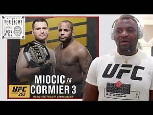 PREDICTION: STIPE MIOCIC vs DANIEL CORMIER 3 from Francis Ngannou | CLIP