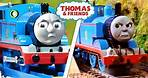 Thomas Leaves the Conductor | Thomas & the Conductor | Thomas and Friends Clip Comparison