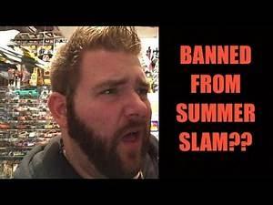 Wife PISSED Grim got WWE SUMMERSLAM Tickets!