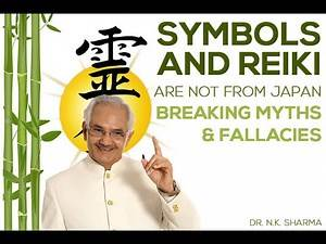 Symbols and reiki are not from Japan...BREAKING MYTHS & fallacies -Dr N.K SHARMA.