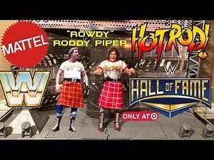 WWE Figure Insider:Rowdy Roddy Piper Mattel Target Exclusive Hall Of Fame Elite Series 5