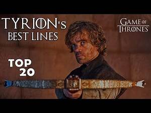 TOP 20 Best Tyrion Lannister Lines | GoT