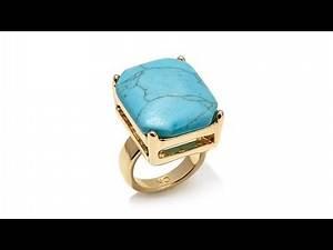 "Kelly Killoren ""Jeannie"" Rectangular Stone Ring"