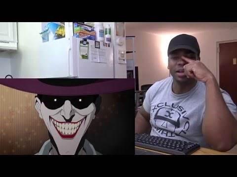 BATMAN: THE KILLING JOKE Official Trailer REACTION!!!