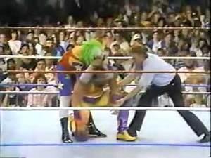 Crush vs Doink Wrestlemania 9 Rematch