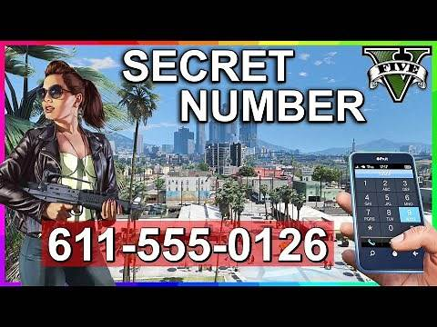 GTA 5 - Secret Phone Number (PS3, PS4, Xbox360, XboxOne and PC)