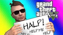 GTA5 Online Funny Moments - Moo Was Kidnapped By Mark Wahlberg!