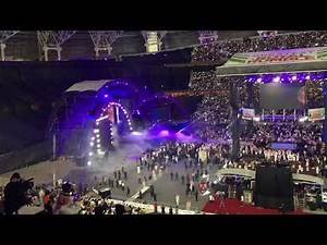 Rusev and Undertaker's Entrance WWE GRR