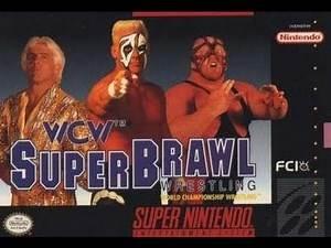 Koru's Game Reviews: WCW Superbrawl Wrestling (SNES)