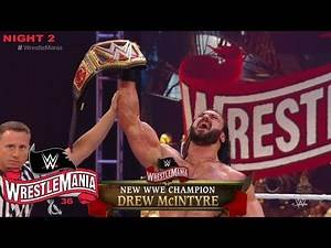 WWE WrestleMania 36 2020 (Day 2) Full Show Review! Highlights PPV