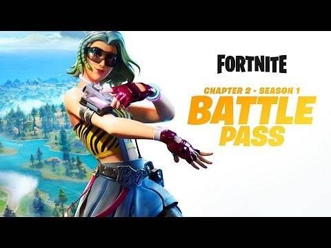 Fortnite Chapter 2 - Season 1 | Battle Pass Gameplay Trailer