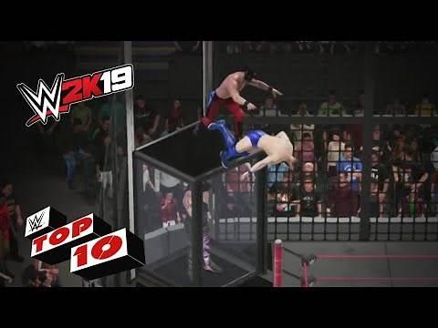 INSANE Elimination Chamber Match Moments: WWE 2K19 Top 10