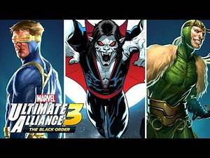 MARVEL ULTIMATE ALLIANCE 3 - Marvel Knights & X-Men DLC Characters Revealed & New Costume Details!