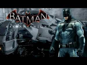 Batman Arkham Knight - Batman VS Superman Skins DLC (Showcase & Free Roam Gameplay)