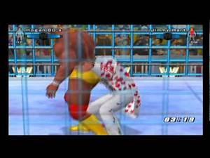 Smackdown vs Raw 2006 Hulk Hogan vs Jimmy Hart Ps2