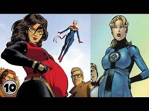 Top 10 Pregnant Superheroes Who Can't Die
