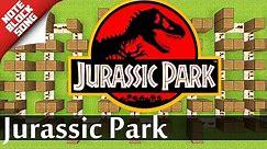Jurassic Park - Minecraft |Note Block Song Doorbell Tutorial|
