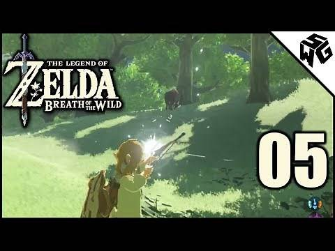 Boar Hunting! - Legend of Zelda: Breath of the Wild #5
