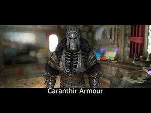 Skyrim Mods: The witcher 3 Caranthir Armour