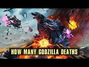 How Many Times Has Godzilla Been Defeated?