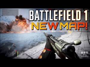 Battlefield 1: New Map Heligoland Bight! Turning Tides DLC Multiplayer Gameplay