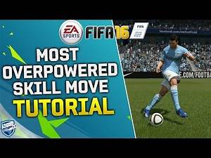 FIFA 16 MOST EFFECTIVE & OVERPOWERED SKILL MOVE in FIFA 16 - SKILLS TUTORIAL for ULTIMATE TEAM & H2H