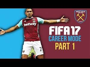 FIFA 17 Career Mode Gameplay Walkthrough Part 1 - WHO TO BUY & SELL ??? (West Ham) #Fifa17Career