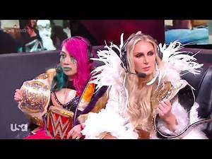 Shayna Baszler & Nia Jax VS Dana Brooke & Mandy Rose 2/2