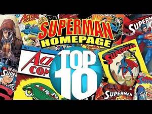 Top 10 Superman Comic Book Stories of All Time