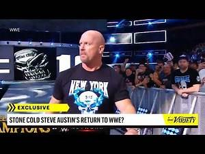 'Stone Cold' Steve Austin Launches WWE Interview Series