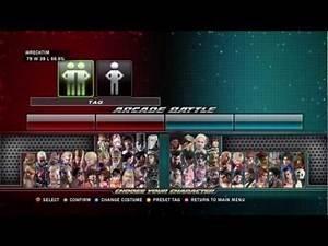Tekken Tag Tornument 2: Mokujin Zafina Arcade Mode Playthrough   Part 1