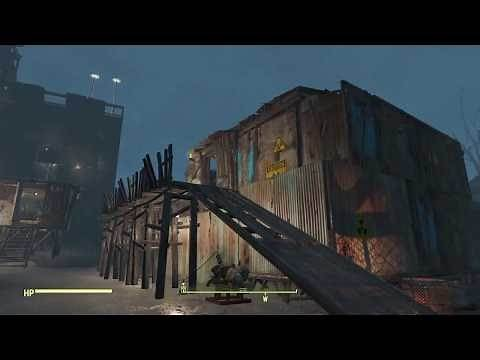 Fallout 4 - Starlight Drive in Build (No Mods PS4)