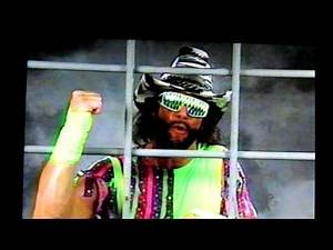 EVENT CENTER MONTREAL FORUM JAKE ROBERTS VS MACHO MAN RANDY SAVAGE CAGE MATCH