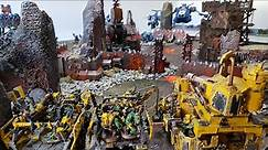 Orks vs Space Marines, 8th edition Warhammer 40k battle report