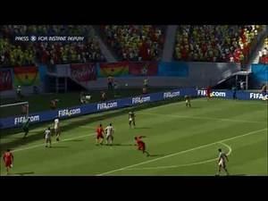 GERMANY - GHANA   FIFA World Cup 2014 (All Goals Highlights HD)