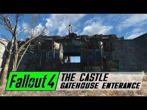 Fallout 4 Settlement Build - The Castle Gatehouse