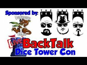 BackTalk: Dice Tower Con 2019 (sponsored by Pandasaurus Games)
