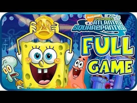 SpongeBob Atlantis SquarePantis FULL GAME Longplay (PS2, Wii)