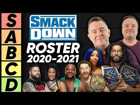 TIER LIST: WWE SmackDown Roster (2020-21)
