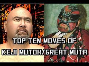 [WRESTLE KINGDOM 2] Top Ten Moves of Keiji Mutoh/The Great Muta