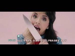 every melanie martinez song but it's only swear words