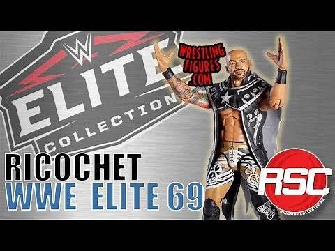 WWE FIGURE INSIDER: Ricochet - Mattel WWE Elite 69!