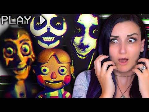 DO NOT Watch These Lost VHS Tapes ...They're Actually HAUNTED