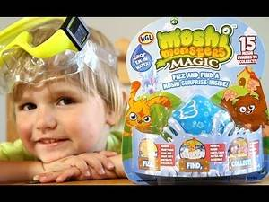 Moshi Monsters Magic Fizz BLUE - Kinder Surprise Disney Pixar Monsters University