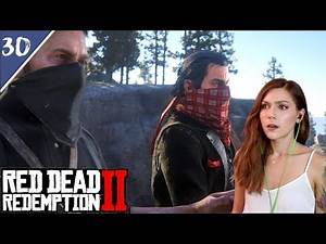 A Horrible Plan (Dutch, Micah & Charlotte) | Red Dead Redemption 2 Pt. 30 | Marz Plays