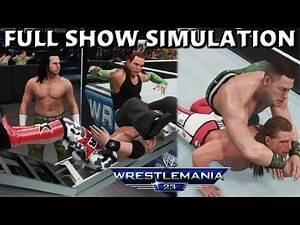 WWE 2K18 SIMULATION: WRESTLEMANIA 23 FULL SHOW HIGHLIGHTS