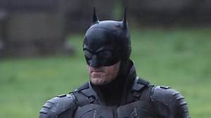 Robert Pattinson Suits Up For 'The Batman' First Look