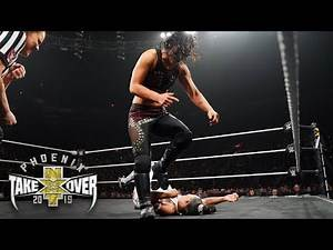 Shayna Baszler's stomp makes Bianca Belair shriek in pain: NXT TakeOver: Phoenix (WWE Network)
