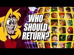 Who Should Return For MVCI?! Marvel 2 Roster Thoughts