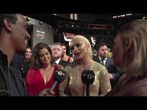 Kickout @ WWE 2019 Hall Of Fame Red Carpet with Mandy Rose